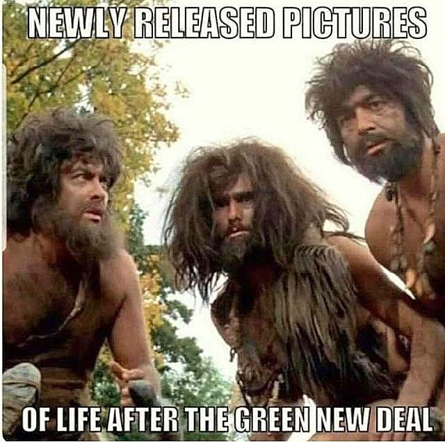 Forget The Green New Deal – let's go for The Greener, Newer Deal. It's greener, it's newer and it's a better deal!