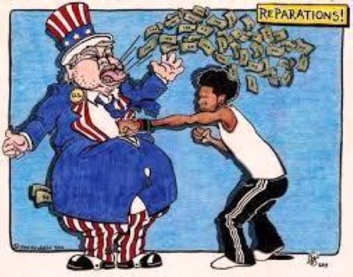 REPARATIONS??  LET'S HAVE FUN!!